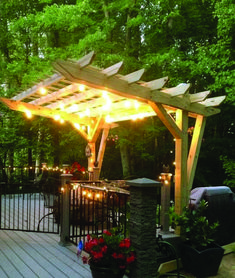 Get Ultimate Shade With 16 Best DIY Outdoor Pergola Ideas for the Backyard. Bring shade and relaxation to your yard with 16 of the best DIY outdoor pergola ideas for the home. Design a garden pergola to add style and structure to your yard. Diy Pergola, Front Porch Pergola, Building A Pergola, Pergola Canopy, Pergola Attached To House, Outdoor Pergola, Wooden Pergola, Pergola Ideas, Pergola Roof