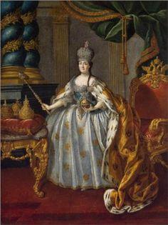 Portrait of Catherine II - Aleksey Antropov