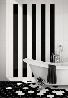 Black & White Tile Done Right | Apartment Therapy