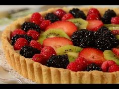 Fruit tart from joy of baking.  i always thought a lemon pastry creme would be good instead of the classic vanilla.