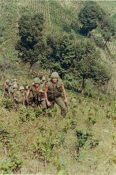 Marines in the field - Vietnam War