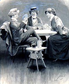 Liberated Women, 1904  Illustration by Josef Murakowski