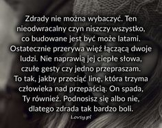 Lovsy.pl - Strona pełna uczuć. Motto, Life Without You, In Other Words, Magic Words, Sad, Quotes, Quotations, Qoutes, Mottos