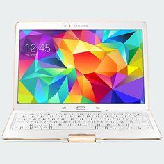 Samsung Tab S 10.5 Bluetooth Keyboard Case - Dazzling White | Verizon Wireless