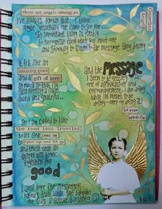 Rosies Arty Stuff: JOURNAL PAGES