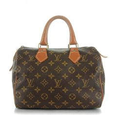 This is an authentic LOUIS VUITTON Vintage Monogram French Company Speedy 25. This chic vintage speedy is crafted of Louis Vuitton monogram on toile canvas.