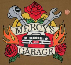 Mercy's Garage Patch: Large : Hurog Store