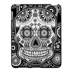 sugar skull case for the ipad