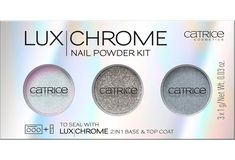 CATRICE LuxChrome Nail Powder Kit 01 Effect Overlaod