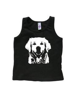 Golden Retriever Kids Tank Top,Golden Retriever Gifts, Dog Themed Birthday…