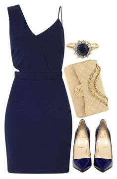 """""""Preadored 7.8"""" by emilypondng ❤ liked on Polyvore featuring Miss Selfridge, Chanel and PreAdored"""