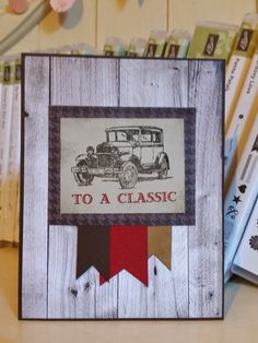 Windy's Wonderful Creations, Stampin' Up!, Guy Greetings