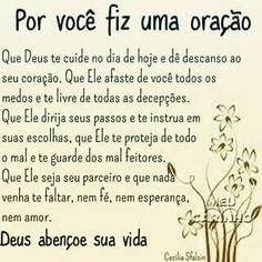 Sweet messages for good day Portuguese Quotes, Religion Quotes, Snoopy Love, Sweet Messages, Faith In God, Signs, Word Of God, Gods Love, Good To Know