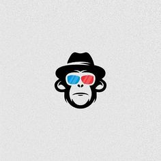 Monkey Logo by Arief Imam Afandi @afand.art - LEARN LOGO DESIGN @learnlogodesign @learnlogodesign - Want to be featured next? Follow us and tag #logoinspirations in your post