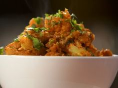 Alu Gobhi - Cauliflower has so many healthy qualities that you would be amazed! Try this healthy meal! not only is it low in calories but the healthy benefits you receive from the Cauliflower alone is well worth it.