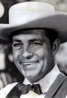 """Dale best remembered for the tv series """"Tales Of Wells Fargo"""". Was cremated. Old Western Actors, Western Movies, Classic Hollywood, Old Hollywood, Fargo Tv Series, Actor Secundario, Clint Walker, Tv Westerns, Old Movie Stars"""