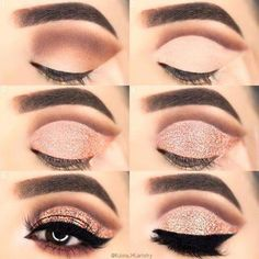 33 Eye Makeup Tutorials To Take Your Beauty To The Next Level - Make up - Makeup Hacks, Makeup Goals, Love Makeup, Makeup Inspo, Makeup Inspiration, Beauty Makeup, Daily Inspiration, Cheap Makeup, Makeup Ideas