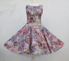 Petticoat+Kleid+rockabilly+50er+Jahre+Mode+Vintage+von+Rockabillymode+50er+Jahre+Petticoatkleider+Brautkleider+auf+DaWanda.com