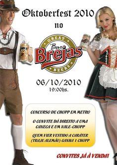 Evento terá música, comida e chopes tipicamente alemães Os moradores de Campinas e arredores que admiram a cultura alemã (gastronomia, cerveja e