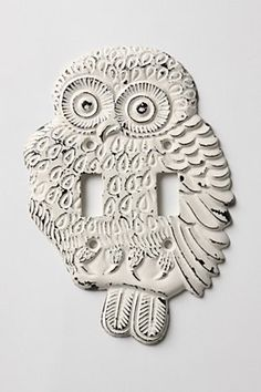 OWL~ switch plate a hoot!
