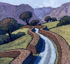 Chris Neale - Landscape Artist - Print Detail