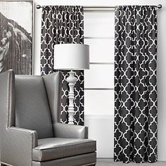Z Gallerie - Mimosa Panels - Charcoal