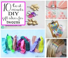 10 Last-minute DIY gifts for tween girls