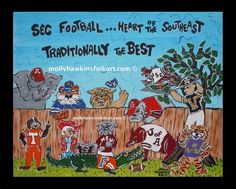 SEC Football Cartoons - Bing images University Of Kentucky Football, Msu Football, Football Jokes, College Football, Sec Games, Saturday Down South, Football Paintings, South Carolina Gamecocks, Football Pictures