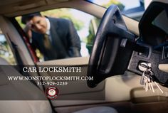 Car Locksmith: NONSTOP Locksmith offers a variety of auto locksmith services for your needs. www.nonstoplocksmith.com #NonstopLocksmith #Locksmith #Chicago #ChicagoLocksmith #CarLocksmith