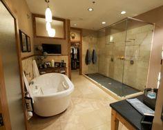 Loft Master Bathroom by proforged
