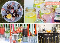 Looking to up your outdoor party game? Check out these ideas make your backyard go from drab to glam. #outdoorparty #party #backyardparty #summer #backyard