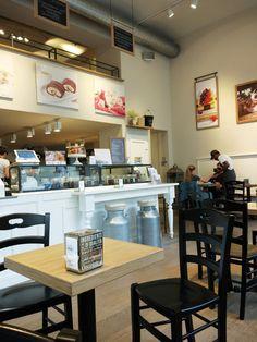 Gelati, Gelati! Shops, Lokal, Restaurant, Gelato, Bar, Table, Furniture, Home Decor, Romans