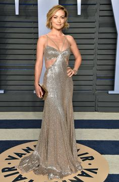Oscars 2018 Afterparty Dresses and Preparty Dresses - Olivia Wilde in Roberto Cavalli
