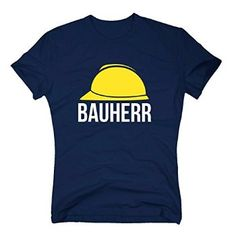 T-Shirt Bauherr Helm Richtfest Hausbau Bau Gleichenfeier Geschenk Baustelle, XL, schwarz
