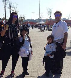 Soraya, Isabella, Lorenzzo e Rodrigo rumo a Arena Corinthians em 23/07/16. By Salete Barilli