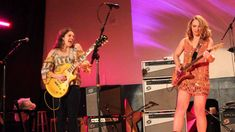 """Samantha Fish performs, """"Go to Hell"""" featuring Sadie Johnson on Guitar"""