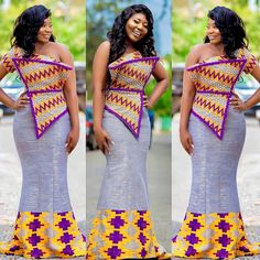 14 Best Ankara Styles For Church and Weekends - African Wear Latest Ankara styles for women or young ladies. African wear for church and weekends. African Fashion Ankara, Latest African Fashion Dresses, African Print Dresses, Ghanaian Fashion, African Print Fashion, African Dress, Kente Styles, Ankara Gown Styles, Latest Ankara Styles