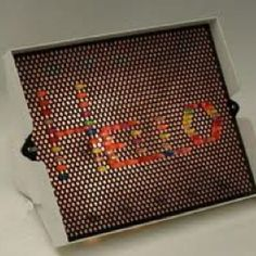 Lite brite, lite brite, turn on the magic with colored lites!
