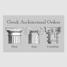 Ancient Greek Buildings, Ancient Greek Art, Ancient Greek Architecture, Ancient Greece, Greece Architecture, Art And Architecture, Architecture Details, Architectural Columns, Architectural Prints