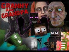 Monster School: GRANNY & GRANDPA HORROR GAME CHALLENGE - Minecraft Animation Minecraft School, Monster School, Horror, Thankful, Challenges, Animation, Film, Games, Youtube
