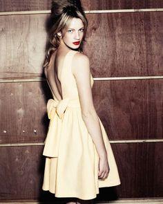 Jaeger boutique yellow dress