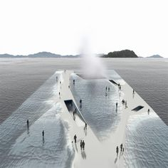 YEOSU WATER PAVILION by Daniel Valle Architects
