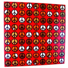 'Peace in '81' by Tasia-Vu Designs. Arcylic on Canvas. www.tasia-vu-designs.com