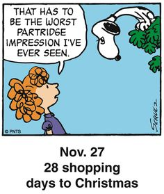 Nov. 27 - This is a classic countdown panel from 2005