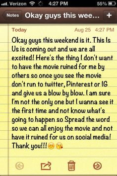 Please spread the word!! We need to have an official waiting period...