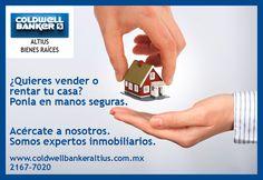 Pon tu casa en manos seguras