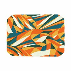"Danny Ivan ""Astro Naive"" Orange Green Place Mat"