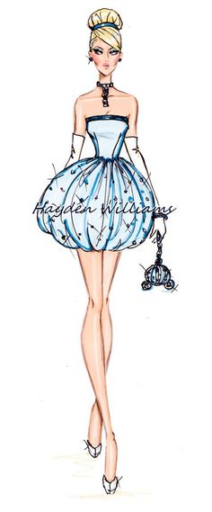 The Disney Divas collection by #HaydenWilliams: Cinderella