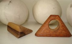 wooden rings by a.r. pleis