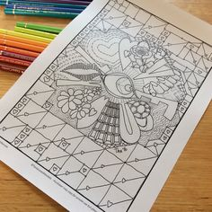 To win an amazing colouringpage in pdf follow the instructions below.  The colouring page is called Love You and has a #valentines theme.  giveaway ends 14feb.   1.  Visit #my Etsy Shop #tanialovesmandalas  2. ❤️ any of my products (not mandatory to win but I would appreciate your opinion) 3. Contact me in store with your email address. I will not use your email for any other purpose or pass it on. Promise!
